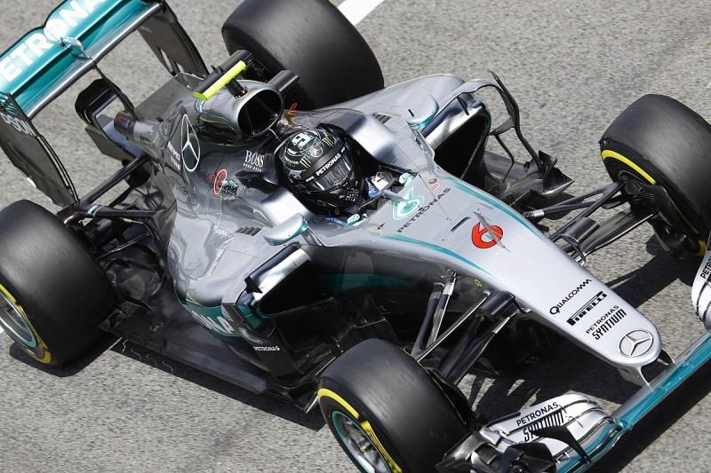Spanish Grand Prix practice: Nico Rosberg puts Mercedes on top