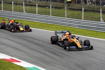 McLaren's Sainz apologised over radio for Albon Italian GP F1 clash