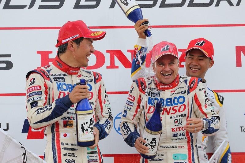 Autopolis SUPER GT: Kovalainen and Nakayama win for SARD Lexus