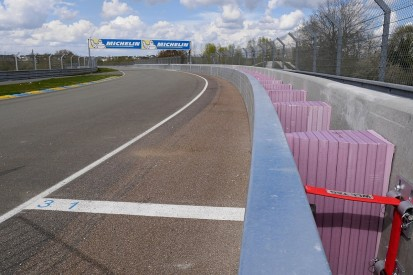 SAFER barriers added to Porsche Curves at Le Mans