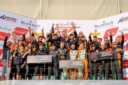 FFF Racing take Blancpain GT Europe title after points tie