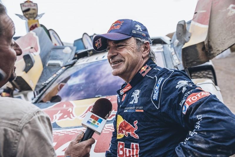 Peugeot's Carlos Sainz Sr says 2018 Dakar could mark end of career
