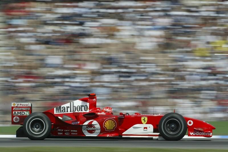 Ferrari F2004 to appear at 2018 Autosport International Show