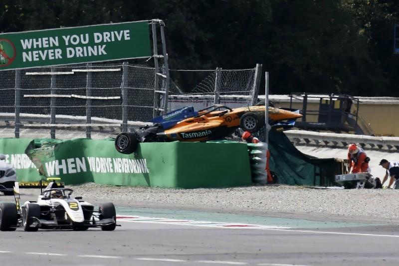 Huge Alex Peroni Monza F3 crash a lesson for F1, say drivers