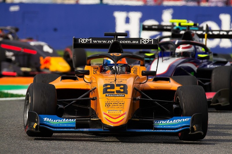 Alex Peroni has fractured vertebra after sizeable Monza F3 crash