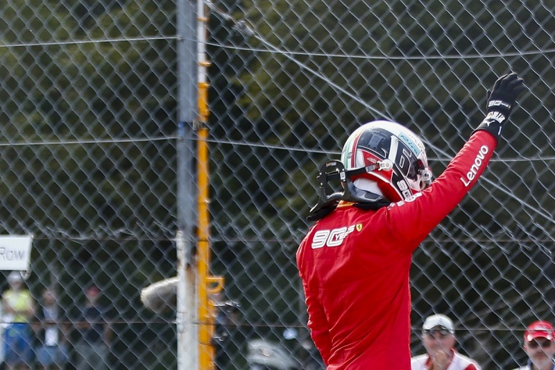 Leclerc on pole for F1 Italian GP after late farce stops final runs