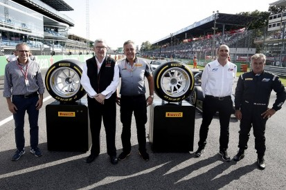 F1's 2021 18-inch wheels revealed at Monza in Alesi F2 demo run