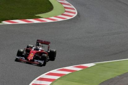 Sebastian Vettel leads Ferrari one-two in first Spanish GP practice