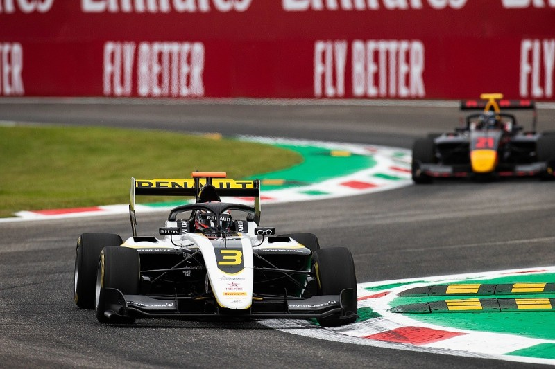 Lundgaard takes pole after bizarre scenes in Monza F3 qualifying