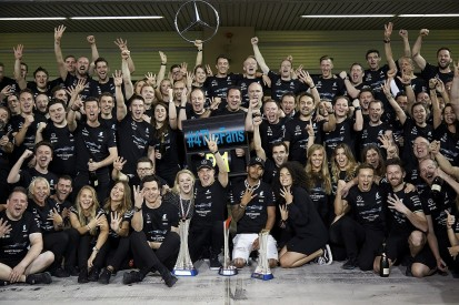 F1 success in 2017 equal to 2014 achievements for Mercedes