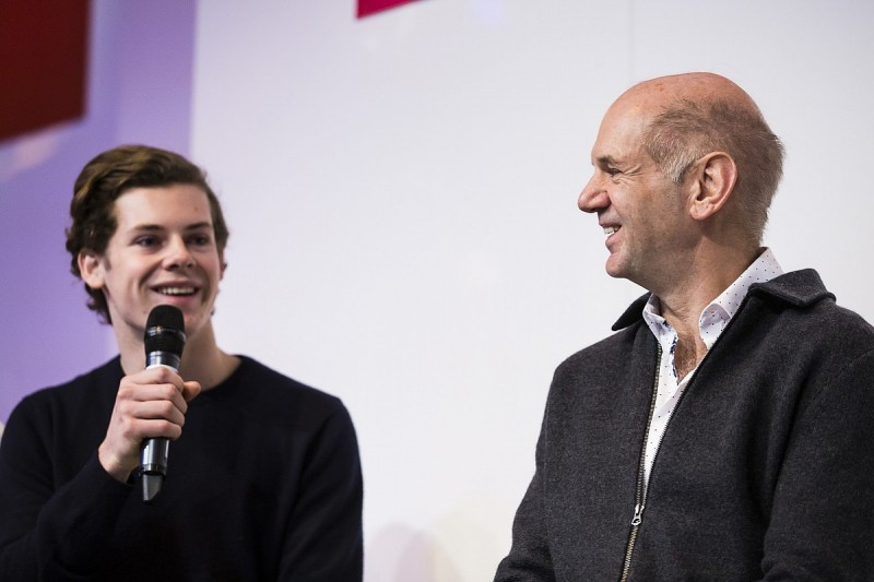 Euro F3 racer Harrison Newey on design legend and father Adrian