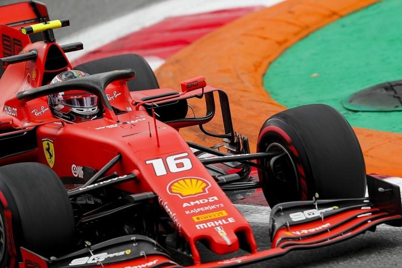 Italian Grand Prix practice: Charles Leclerc's Ferrari fastest