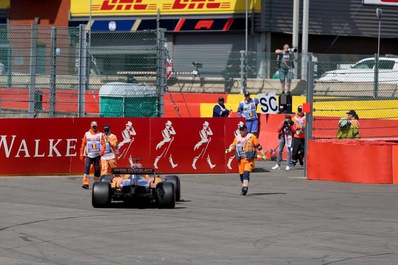 """Sainz's Spa F1 engine """"alive"""", Norris set for Monza grid drop"""
