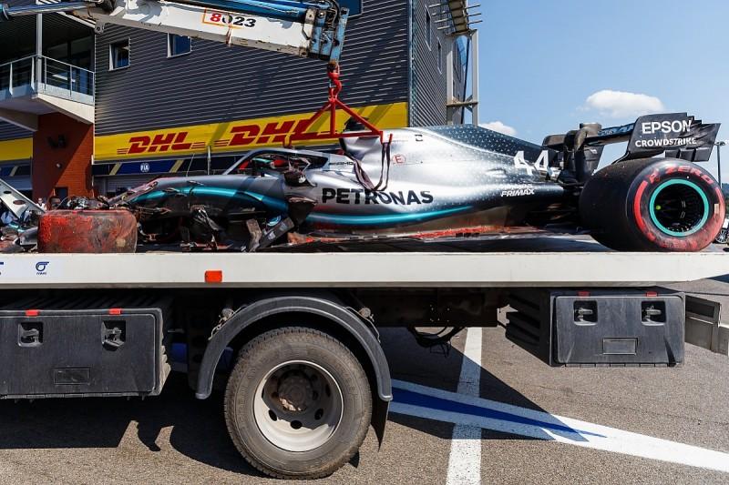 "Ricciardo wants ""respect"" for drivers after Hamilton Spa crash cheered"