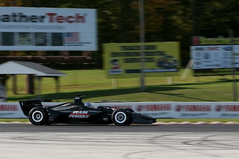 Penske taking 'big swings' with set-up for new 2018 IndyCar aerokit