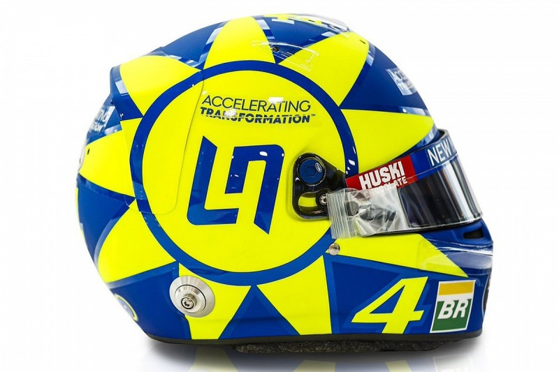 Norris to use Rossi-inspired helmet at F1's 2019 Italian GP
