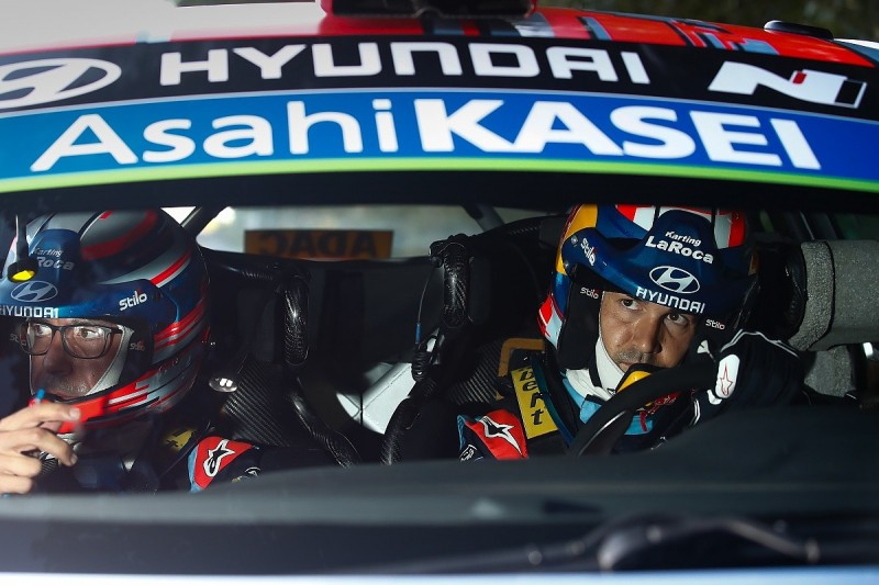 Makinen plays down WRC rumours Hyundai's Sordo could move to Toyota