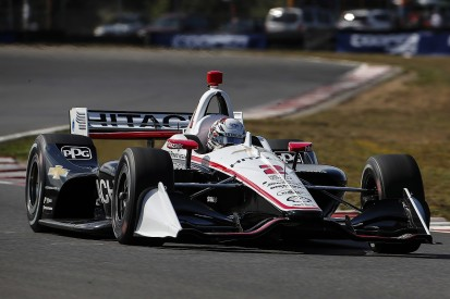 Double points IndyCar finale makes Newgarden lead 'uncomfortable'