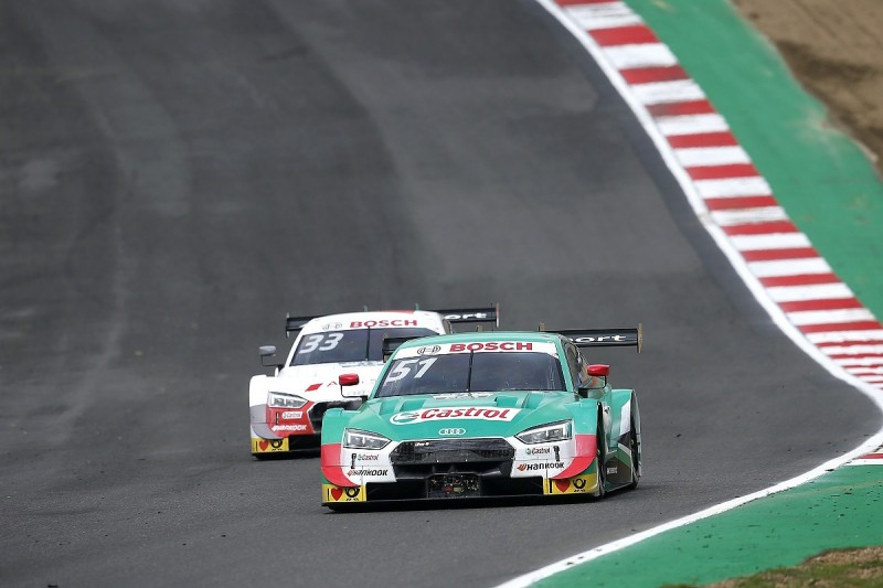 Muller defends title approach after comments from DTM boss Berger