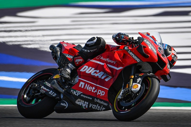 """Misano MotoGP test """"removed many doubts"""" about Petrucci performance"""