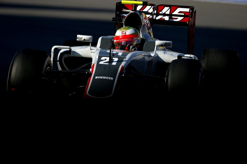 Haas F1 team adds new rear wing to Spanish GP upgrade package