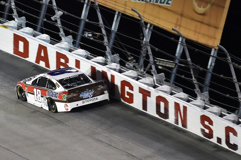 Kyle Busch explains 'losing control' of NASCAR Cup Darlington race