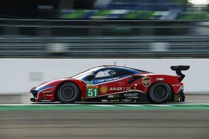 Incorrect penalty cost Ferrari WEC Silverstone GTE Pro victory shot