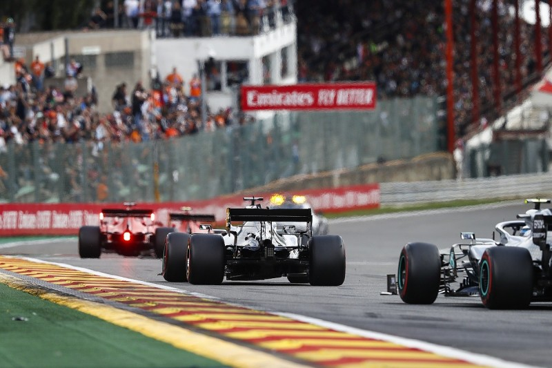 Mercedes compares its F1 power deficit to Red Bull's 2014/15 gap