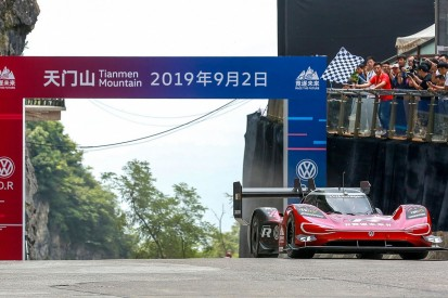 VW's all-electric ID. R sets record time in Tianmen Mountain run