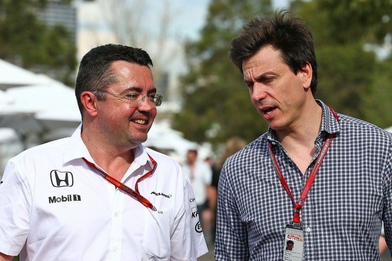 F1 bosses Boullier and Wolff disagree over impact of 2017 changes