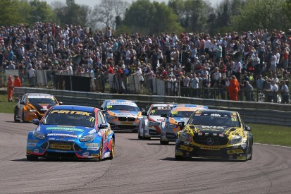 Thruxton BTCC: Andrew Jordan ends win drought with race-two victory