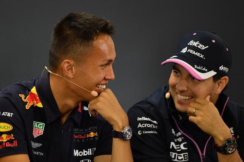 No action taken over Perez/Albon F1 Belgian GP last-lap clash
