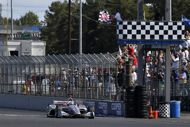 IndyCar Portland: Power wins as Newgarden steps closer to title