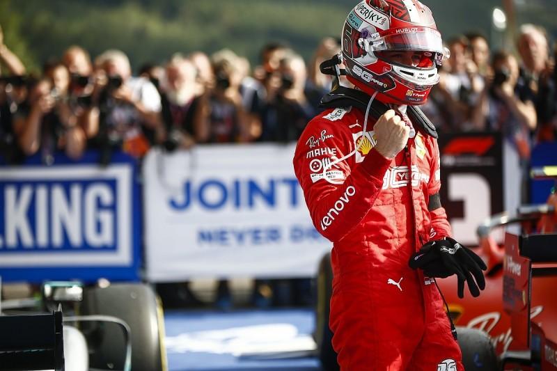 Belgian Grand Prix: Leclerc fends off Hamilton to take first F1 win
