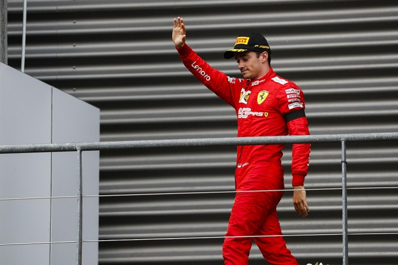 Charles Leclerc: Hard to enjoy first F1 win after Hubert's death