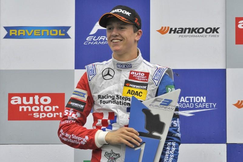 European F3 race winner Ben Barnicoat recovered from 'rock bottom'