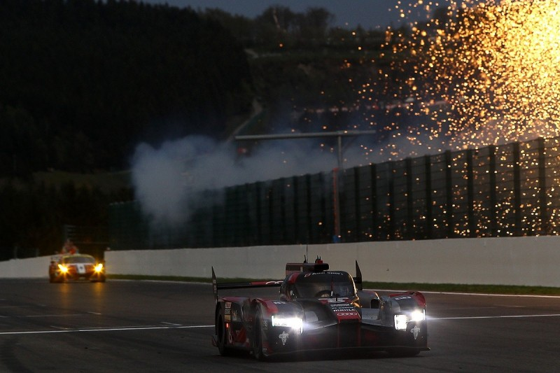 Spa WEC: Audi wins race of attrition for LMP1 contenders
