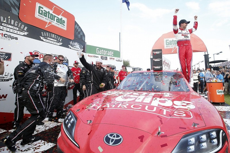 Denny Hamlin first NASCAR Xfinity race winner to be disqualified