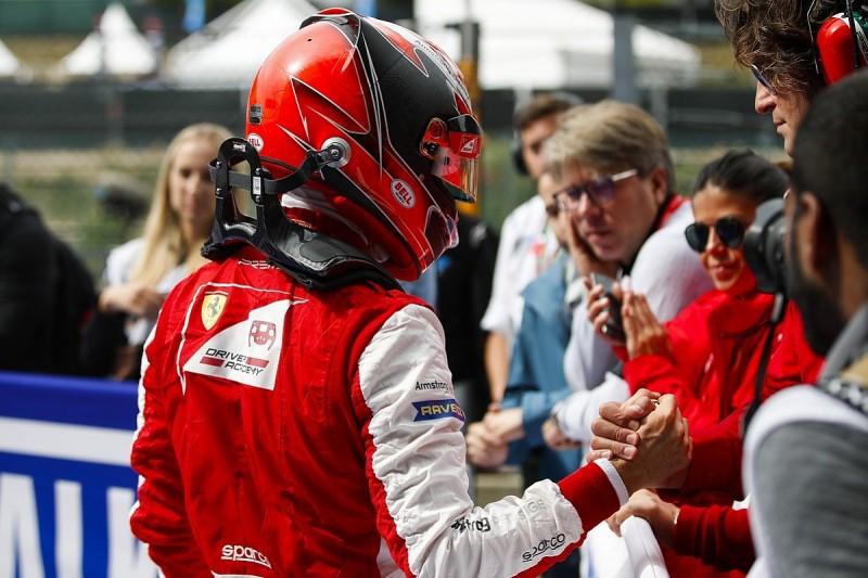 Spa Formula 3: Ferrari's Armstrong dominates, Laaksonen in big crash