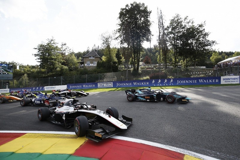 F2 cancels Spa sprint race out of respect following Hubert's death