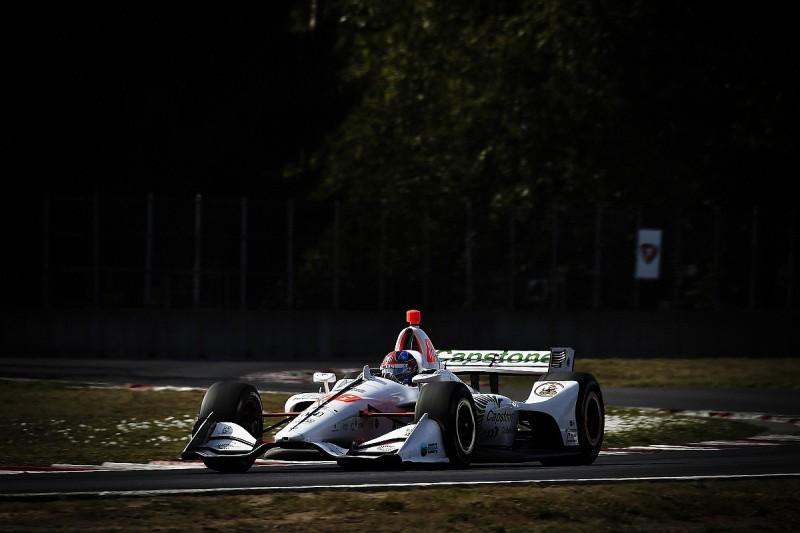 IndyCar Portland: Herta beats Power to pole, Newgarden down in P13