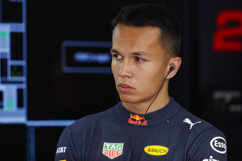 Belgian GP: Why Albon's Red Bull F1 shot begins with a false start