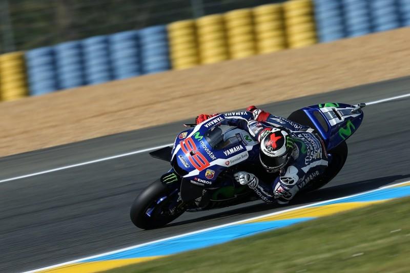 MotoGP Le Mans: Jorge Lorenzo takes first French GP pole position