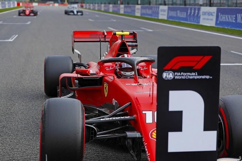 Belgian GP: Leclerc takes dominant pole from Vettel, Hamilton third