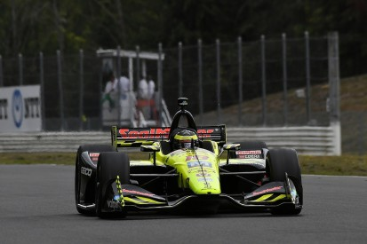 Colton Herta tops IndyCar Portland practice, Bourdais crashes