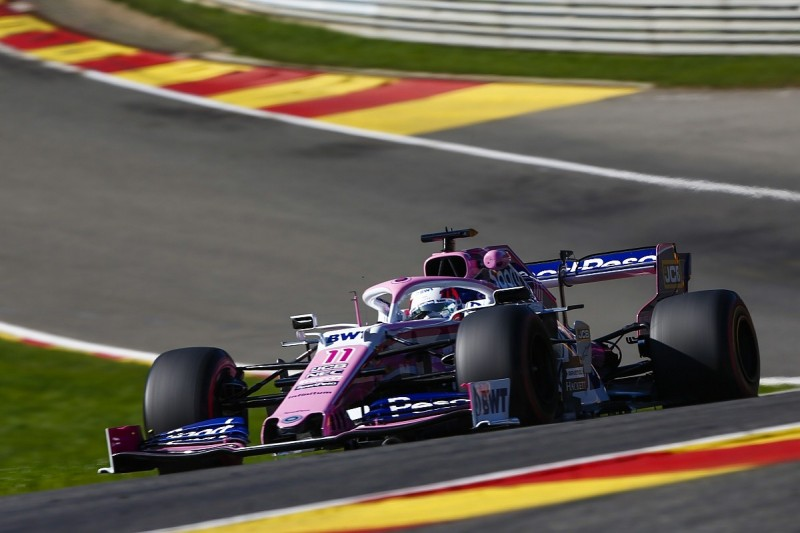 Failure forces Perez to older Mercedes F1 engine at the Belgian GP