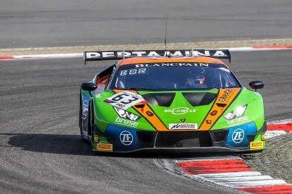 Nurburgring Blancpain: Bortolotti gives Grasser Lamborghini pole