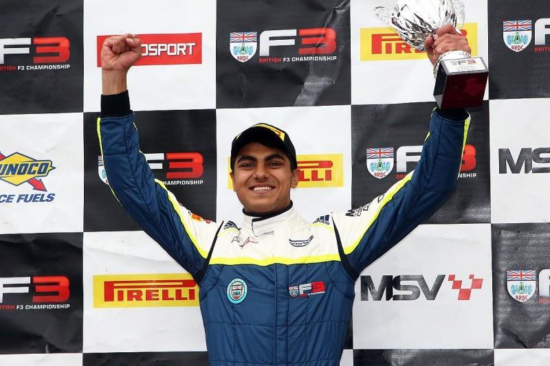 BRDC British F3 champion Ahmed closes on 2018 Hitech Euro F3 deal