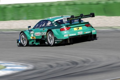 DTM Hockenheim: Audi tops first practice with Mortara and Green