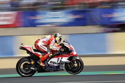 Ducati's Andrea Iannone tops third MotoGP practice at Le Mans
